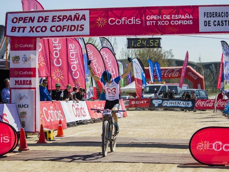 Triunfo de María Rodríguez en el Gran Premio Ciudad de Valladolid