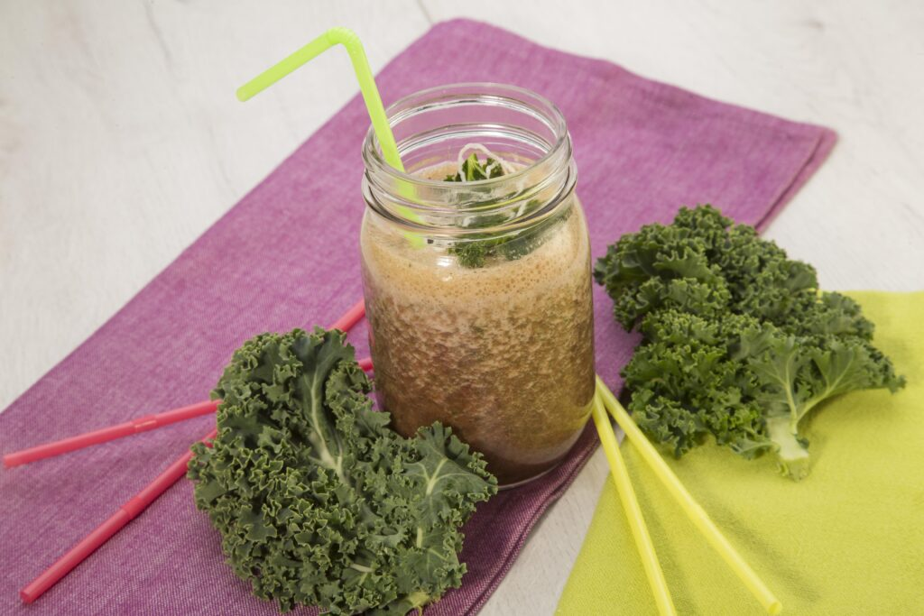 Receta batido de Kale