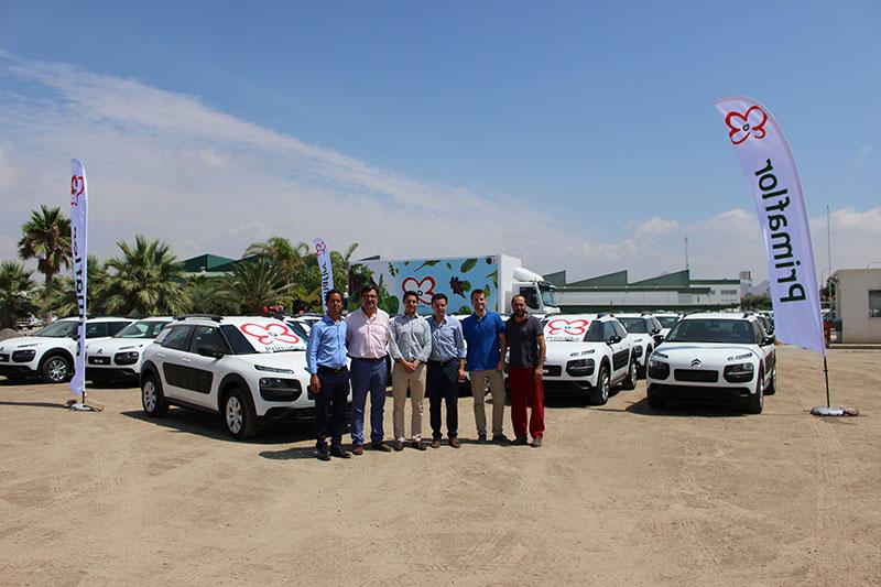 Primaflor y Salinas Car implantan automóviles más sostenibles en el sector agroalimentario