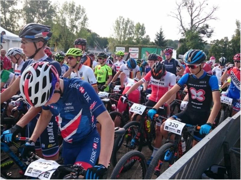 David Campos cumple en su estreno en las UCI Junior Series