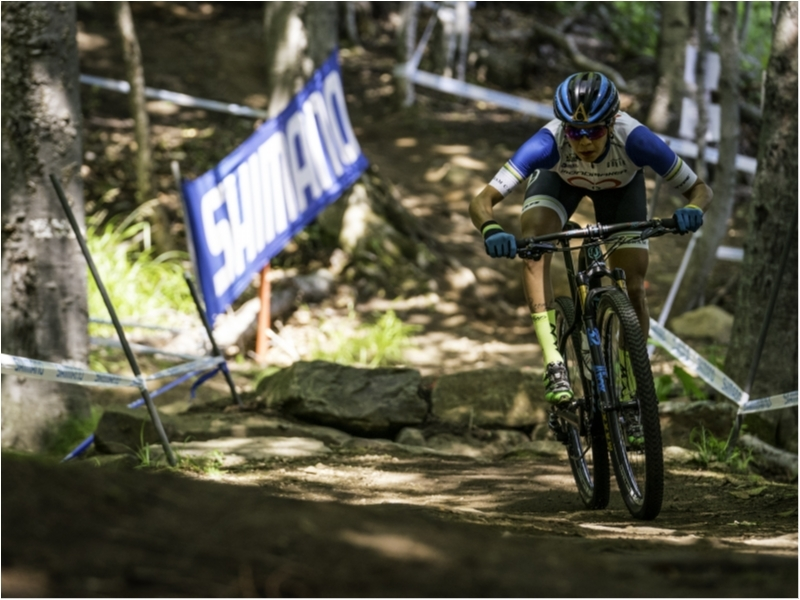 Raiza Goulao very close to the top 20 in the XCO World Cup