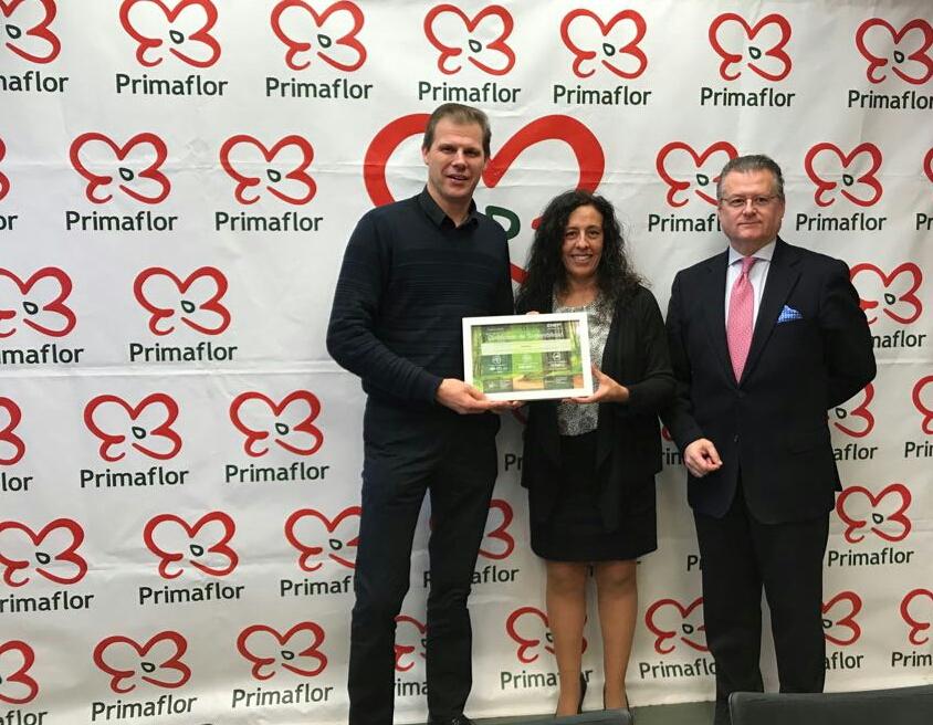Primaflor recibe el certificado de sostenibilidad por el uso de los servicios de Pooling de CHEP España.