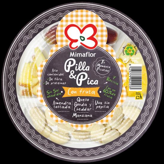 Pilla & Pica con Fruta Mimaflor