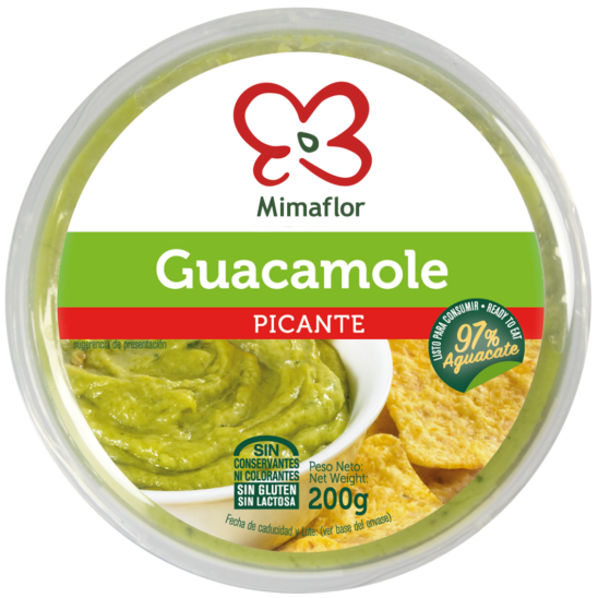 Guacamole Picante Mimaflor