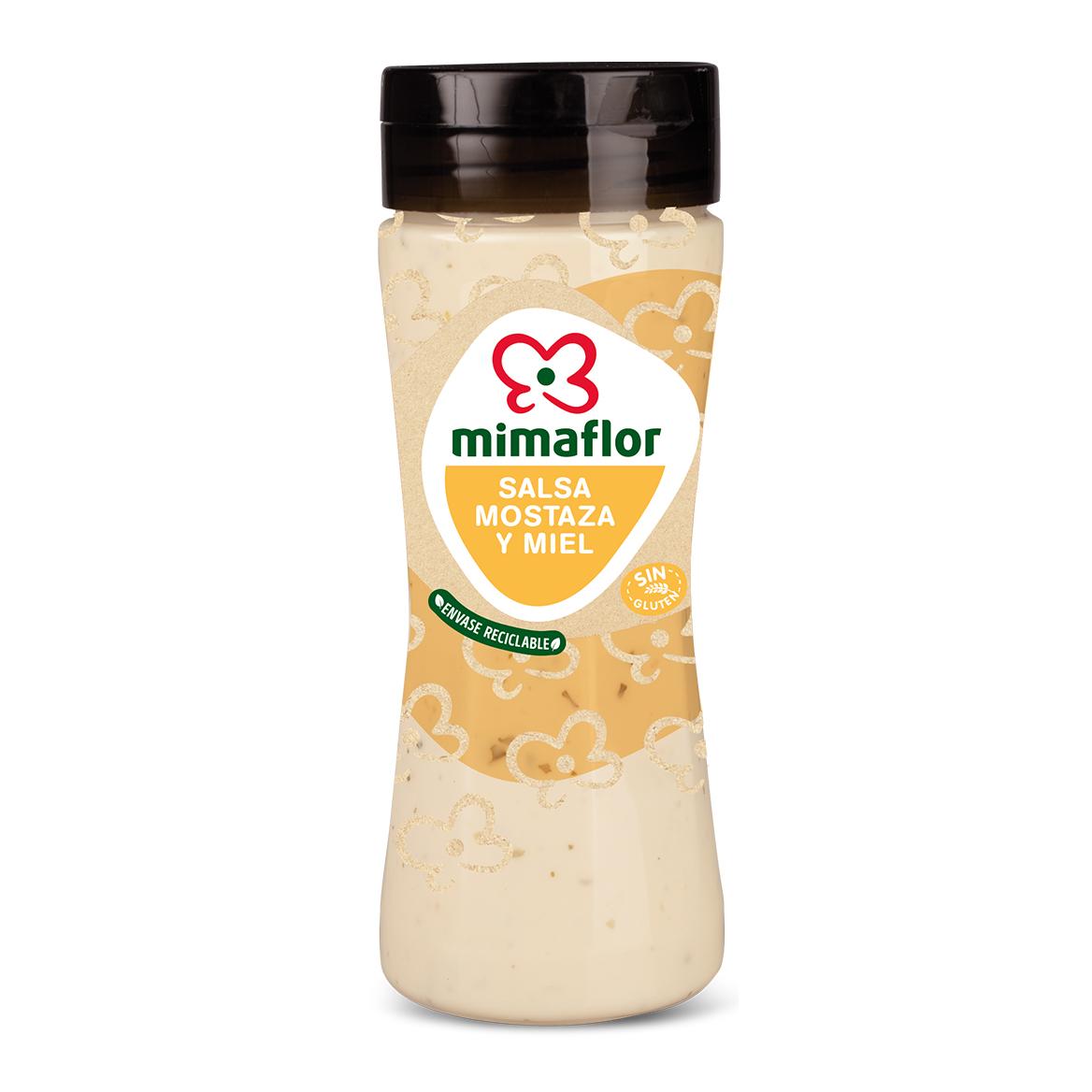 salsa mostaza miel y arandanos mimaflor