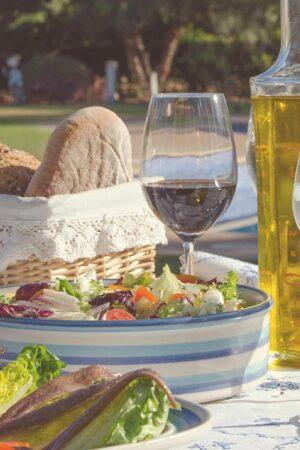 2. We believe in the Mediterranean diet.