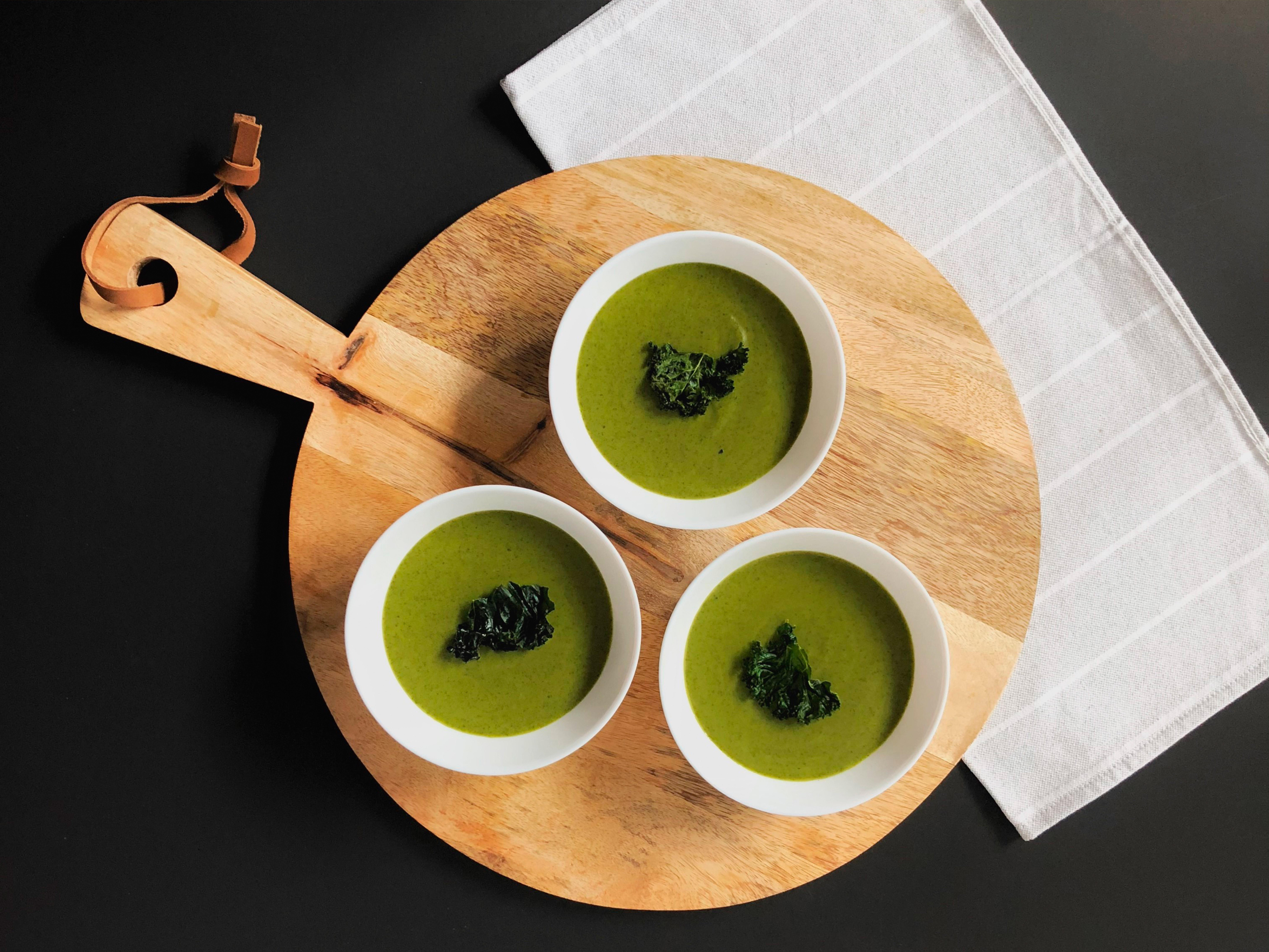 crema de kale